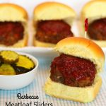 Barbecue Meatloaf Sliders