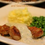 Fried Pork Tenderloin And Sawmill Gravy