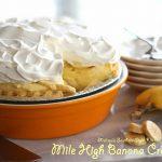 Mile High Banana Cream Pie