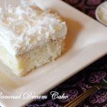 White Coconut Dream Cake