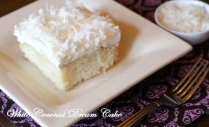 White Coconut Dream Cake!