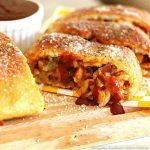 Barbecue Chicken Bacon And Jalapeno Pizza Bread recipe