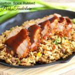Bourbon Spice Rubbed Pork Tenderloin