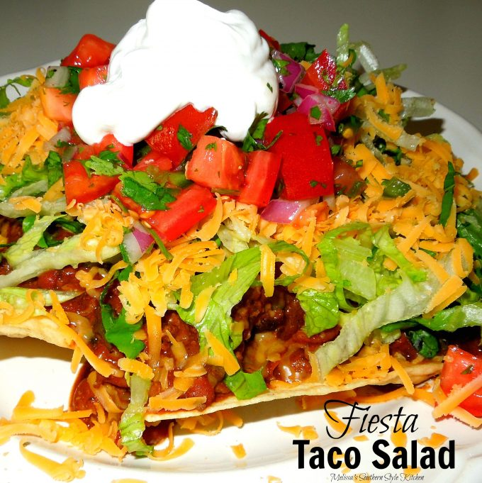Easy Ground Beef Taco Salad Recipe: Taco Salad Recipe With Ground Beef