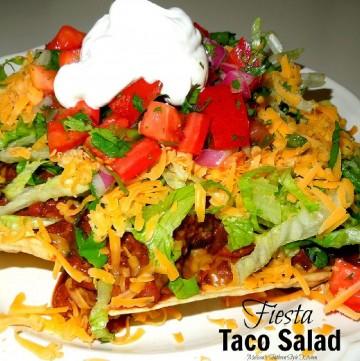 best Fiesta Taco Salad recipe