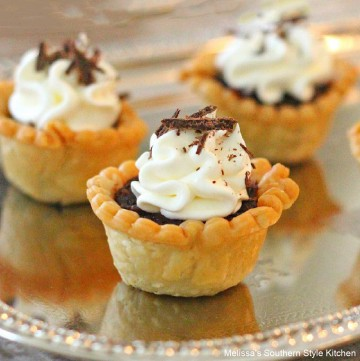 German-chocolate-tartlets-recipe