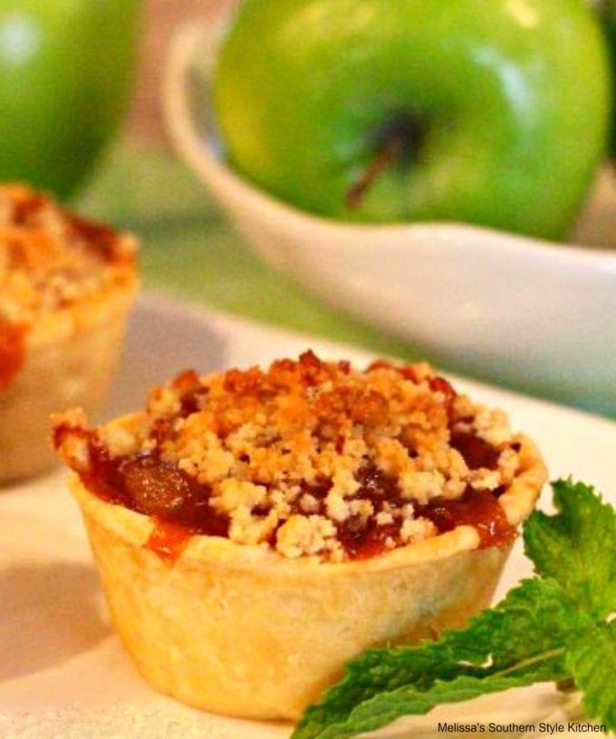 Caramel Apple Mini Pies