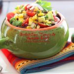 Grilled Corn Tomato And Avocado Salad