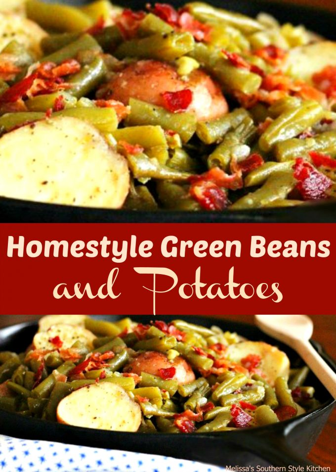 how to cook fresh green beans and new potatoes
