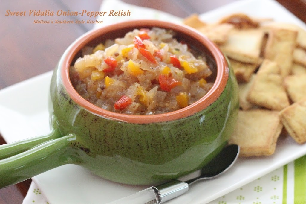 Sweet Vidalia Onion Pepper Relish