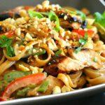 Asian Sesame Chicken Pasta
