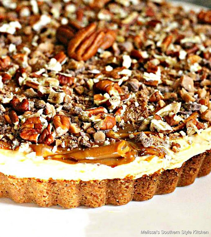 Caramel Swirl Cream Pie