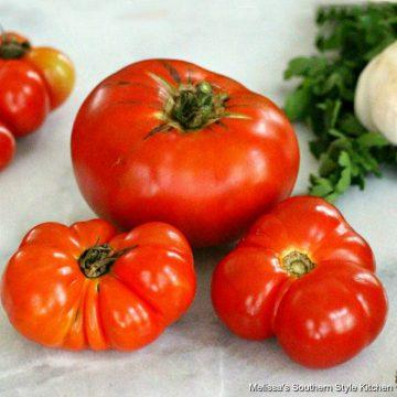 Freezing Summer Tomatoes And Homemade Tomato Sauce recipe