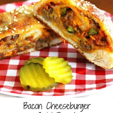 Bacon Cheeseburger Swirl Bread