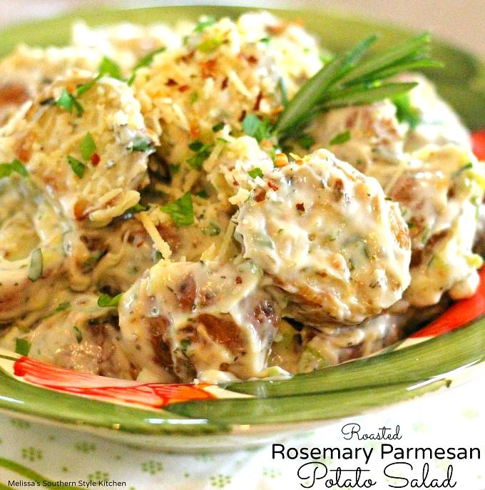 Roasted Rosemary Parmesan Potato Salad