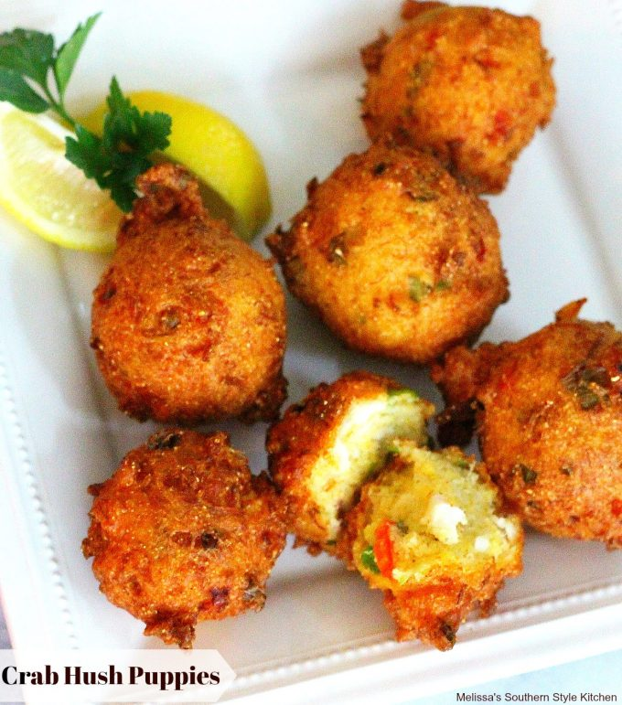 Crab Hush Puppies