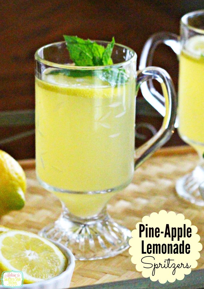 Pine-Apple-Lemonade Spritzer ...