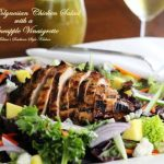 Grilled Polynesian Chicken Salad With A Pineapple Vinaigrette
