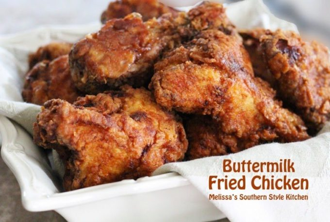 Recipe for buttermilk fried chicken