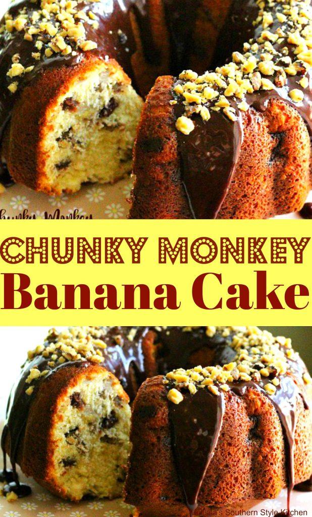 Chunky Monkey Banana Cake