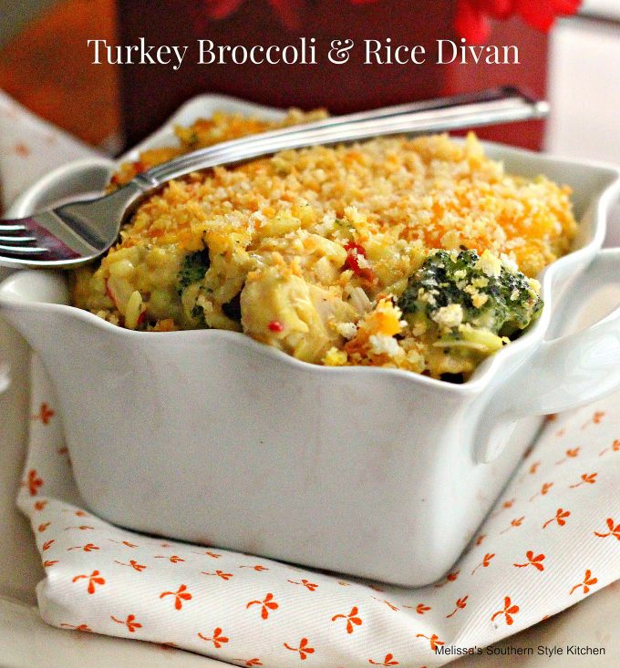 Turkey Broccoli & Rice Divan