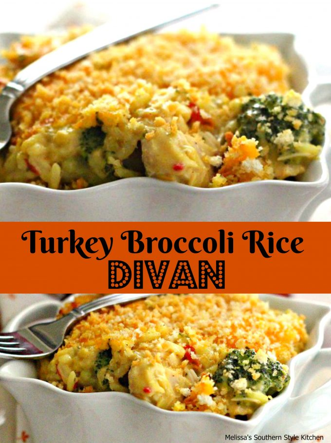 Turkey Broccoli And Rice Divan