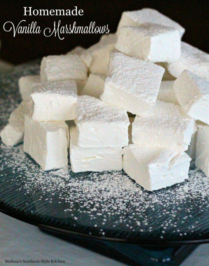 Homemade Vanilla Marshmallows ...