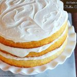 Old Fashioned Butter Cake Recipe