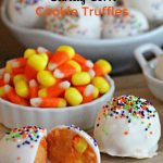 Today on Parade – Candy Corn Cookie Truffles