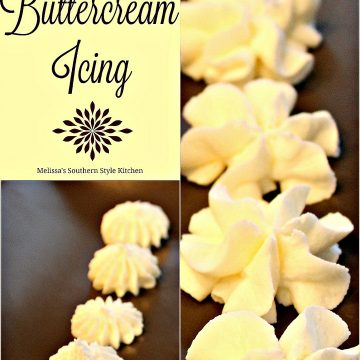 Vanilla Buttercream Icing