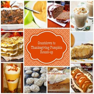 Ode to Pumpkin - Countdown to Thanksgiving