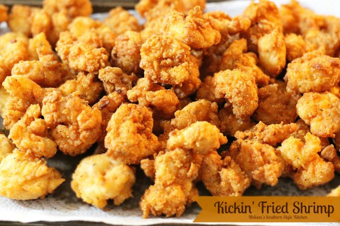 Kickin 39 fried shrimp for How to season fish for frying