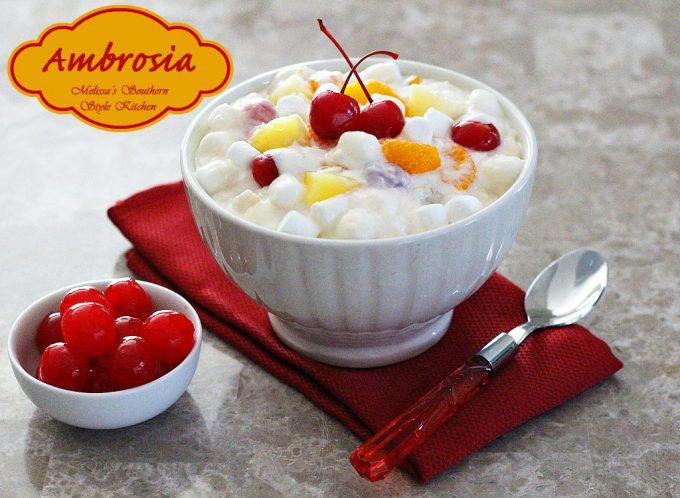 Ambrosia in a bowl