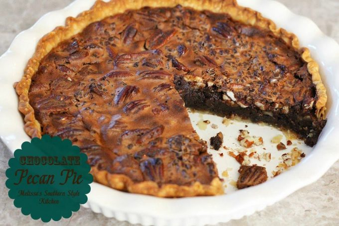Chocolate Pecan Pie - melissassouthernstylekitchen.com