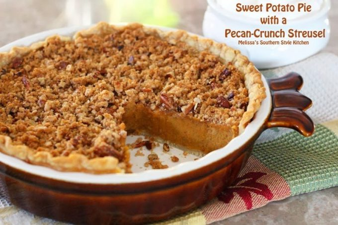 A Southern Classic: Sweet Potato Pie