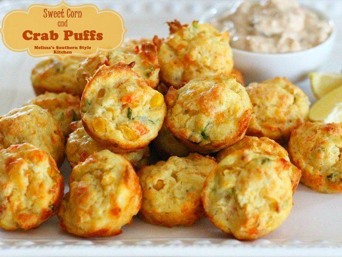 Sweet Corn And Crab Puffs Melissassouthernstylekitchen Com