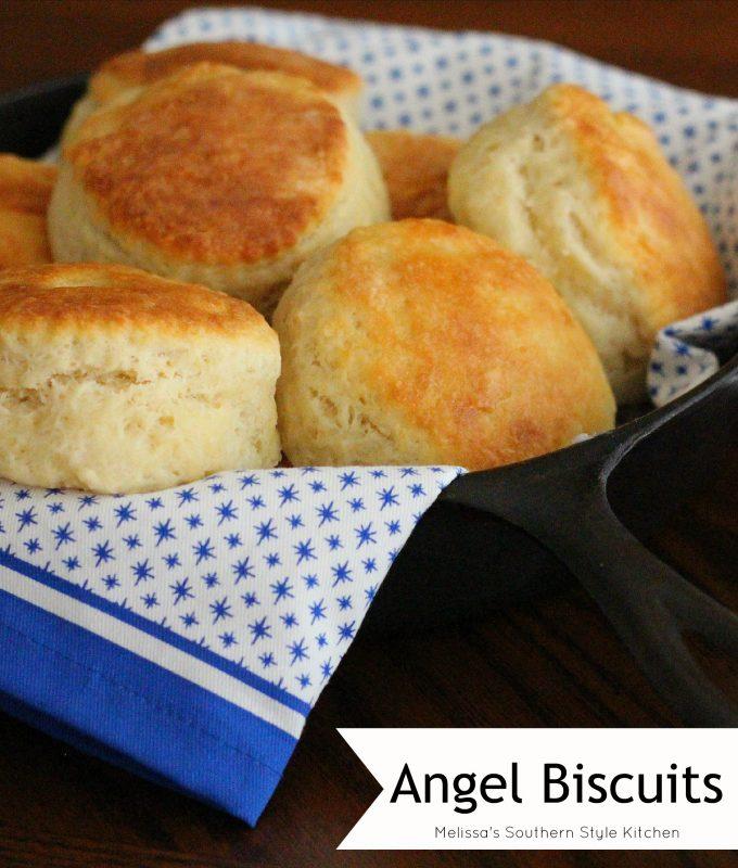 Angel Biscuits - melissassouthernstylekitchen.com