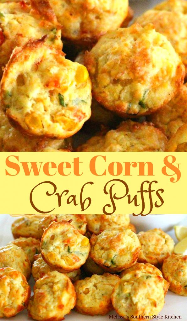 Sweet Corn And Crab Puffs
