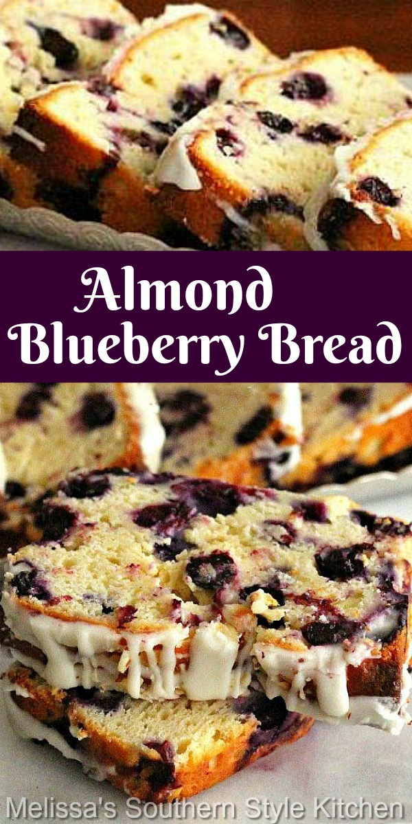 No yeast is needed to make this blueberry filled sweet bread #blueberrybread #greekyogurt #bread #sweetbreadrecipes #brunch #blueberries #breakfast #desserts #dessertfoodrecipes #holidaybrunch #southernfood #southernrecipes