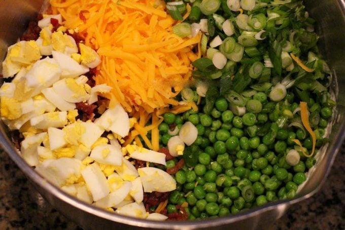 Sweet Pea Salad