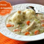 Stovetop Chicken And Dumplings In 30 Minutes