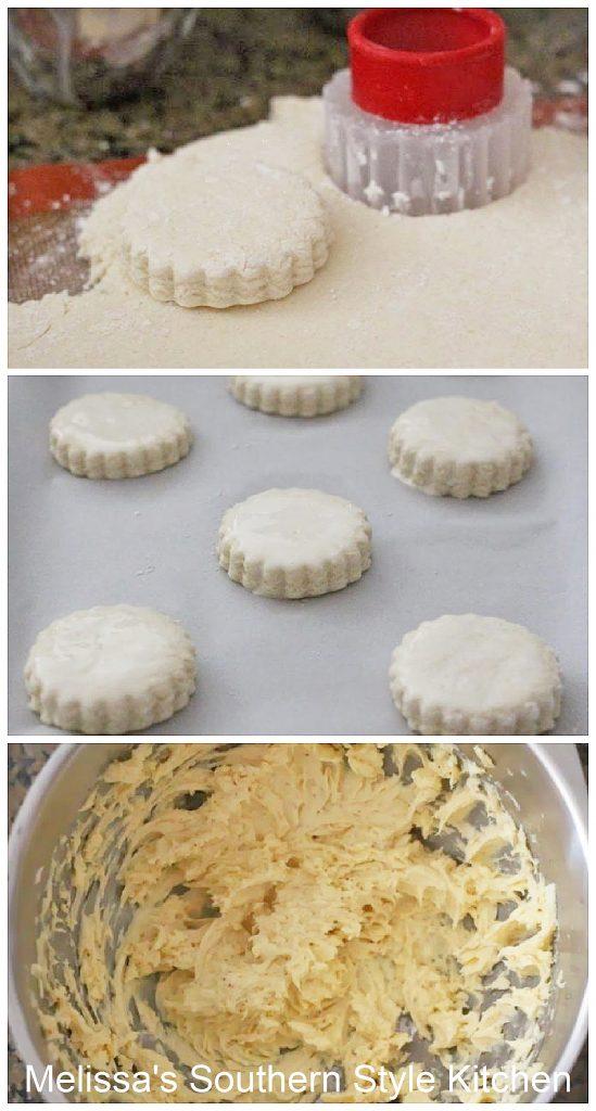 how to make Ham Stuffed Cream Biscuits