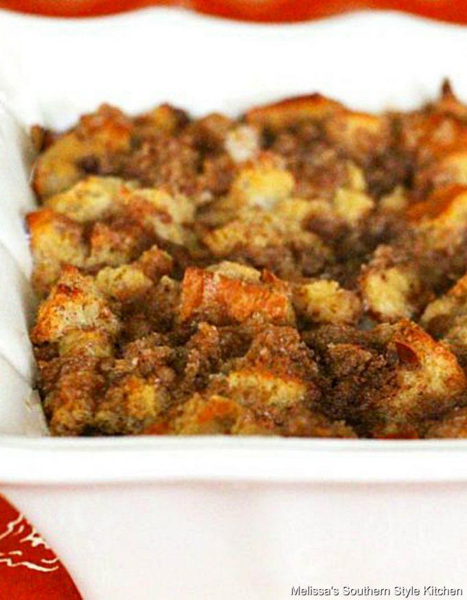 Cinnamon Bun Bread Pudding