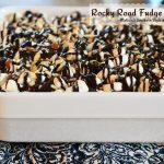 Rocky Road Fudge Poke Cake