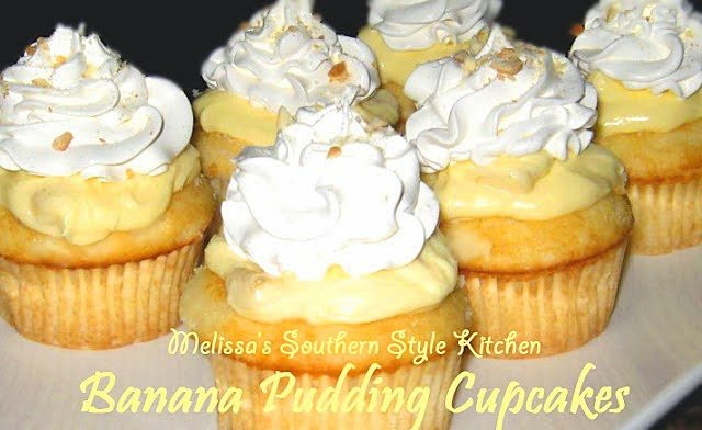 Banana Cupcakes Yellow Cake Mix