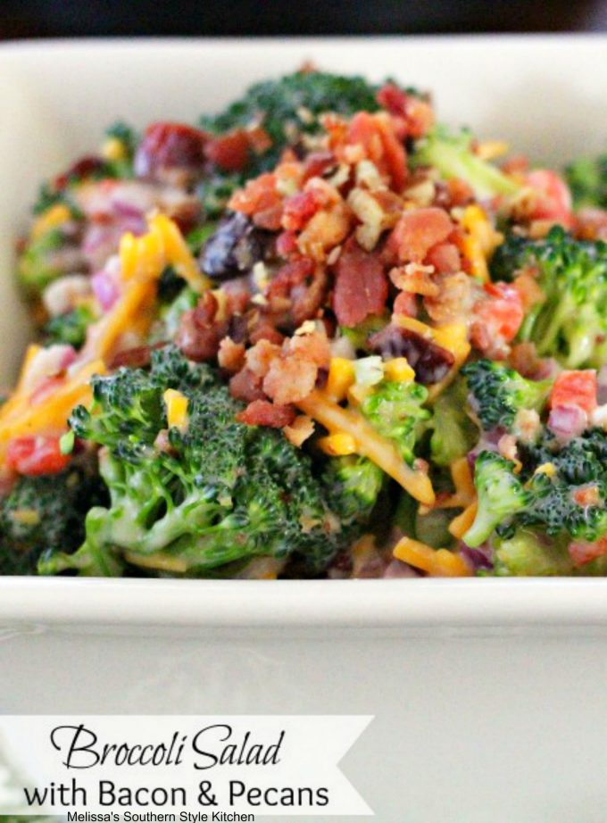 Broccoli Salad Melissassouthernstylekitchen Com