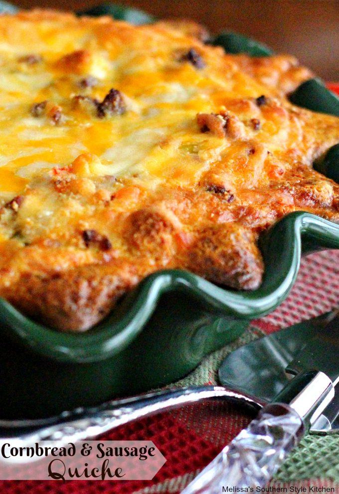 Cornbread Quiche recipe