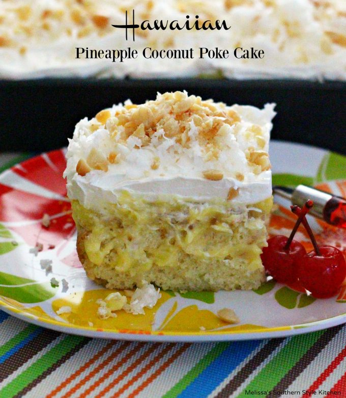 Hawaiian pineapple macadamia cake recipe