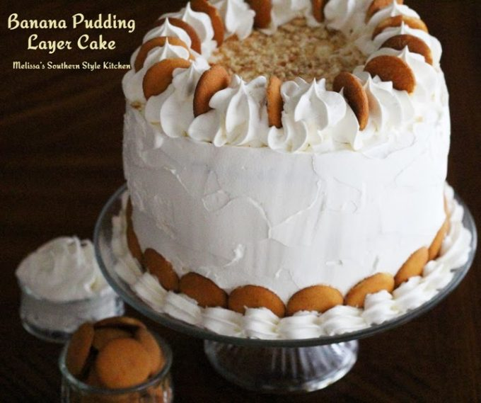 Layer Cake With Pudding Filling