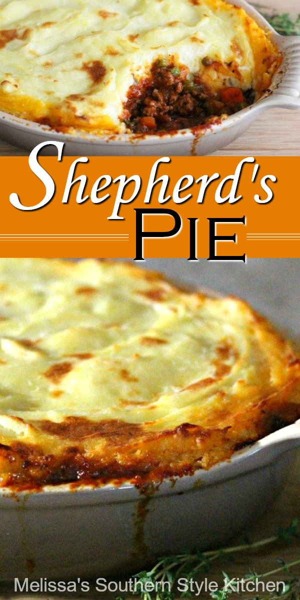 Shepherd's Pie is a perfectly delicious entree for any meal #shepherdspie #easygroundbeefrecipes #casseroles #beef #dinnerideas #shepherdspie #cottagepie #Irishfood #stpatricksday